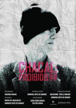 """Cartaz do Filme """"Chacal: Proibido Fazer Poesia"""""""